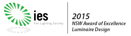 NSW IES Luminaire Design Award of Excellence - Chamaeleon III